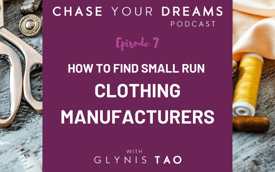 How to Find Small Run Clothing Manufacturers