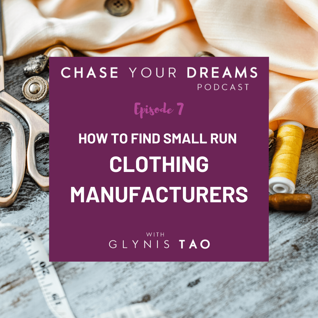 How to find small clothing manufacturers.