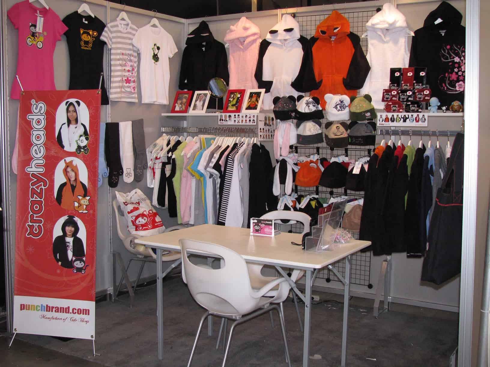 magic trade show fashion booth